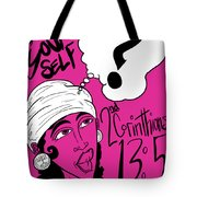 Examine Yourself-woman Tote Bag