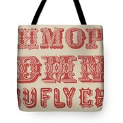 Examples Of Letters  Tote Bag