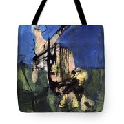 Excavation Of The Sky Tote Bag
