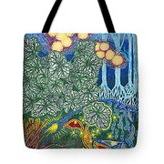 Exciting Harmony Art Prints And Gifts Autumn Leaves Botanical Garden Park Plants Tote Bag
