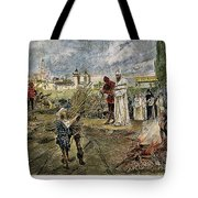Execution Of Jan Hus, 1415 Tote Bag by Granger