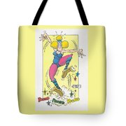 Exercise Wisely Tote Bag