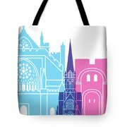 Exeter Skyline Pop Tote Bag