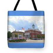 Exeter Town Hall Tote Bag
