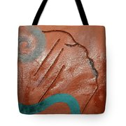 Exhale - Tile Tote Bag