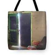Exit Out Tote Bag