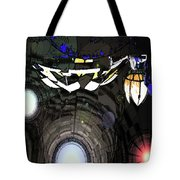 Exiting The Mother Ship Tote Bag