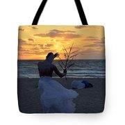 Exorcism Facing The Sea Tote Bag