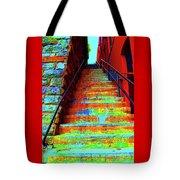 Exorcist Steps Tote Bag