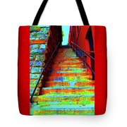 Exorcist Steps Tote Bag