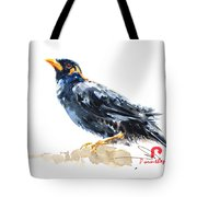 Myna Bird From Thailand Tote Bag