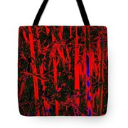 Exotic Bamboo Tote Bag