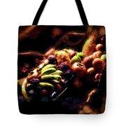 Exotic Fruit Platter Tote Bag