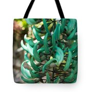 Exotic Jade Vine Tote Bag