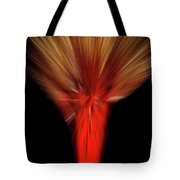Exotic Wheat In Red Tote Bag