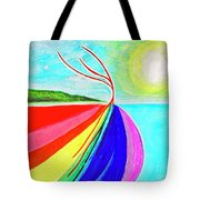 Expansive Flowing Colors In Nature Tote Bag