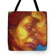 Expected Kisses Tote Bag