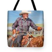Experienced Cowboy Tote Bag