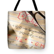 Experiment Notes In Applied Science Research Lab Tote Bag