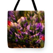 Exploding Flowers 1 Tote Bag