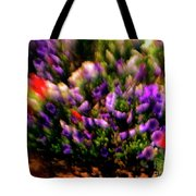 Exploding Flowers 2 Tote Bag