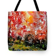 Exploding Nature Tote Bag