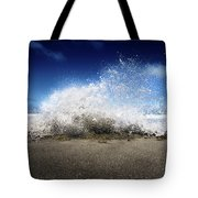 Exploding Seas Tote Bag