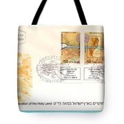 explorers First day cover Tote Bag