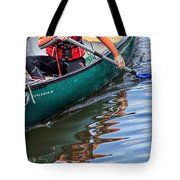 Exploring Along The Exeter Canal Tote Bag