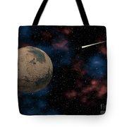 Exploring Planet Mars Tote Bag