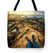Exploring The Beaches Of Western Tasmania Tote Bag