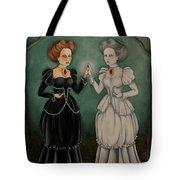 Exploring The Looking Glass Tote Bag
