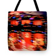 Explosion Tote Bag by Chris Dutton