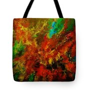 Explosion Of Colour Tote Bag