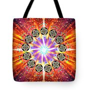 Explosion Of Emotions Tote Bag