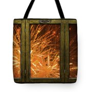 Exposion Of Light Tote Bag