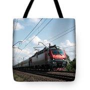 Express Train Tote Bag