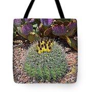 Expressionalism Budding Cactus Tote Bag
