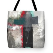 Expressionist Cross 4- Art By Linda Woods Tote Bag