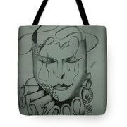 Expressionless Tote Bag
