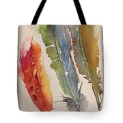 Feather Expressions Tote Bag