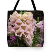 Exquisite Elegant English Foxgloves Tote Bag