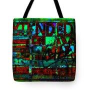 Extended Play Graffiti Radio/tonyadamo Tote Bag