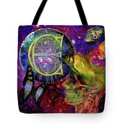 Extraterrestrial Fish In The Sea Tote Bag by Joseph Mosley