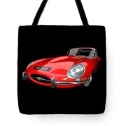 Extreme E Red Tote Bag