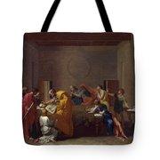 Extreme Unction Nicolas Poussin Tote Bag