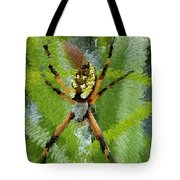 Extruded Spider Tote Bag