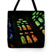 Exuberant Stained Glass Windows Tote Bag