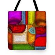 Eye Abstract Tote Bag