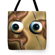 Eye Gestures Tote Bag